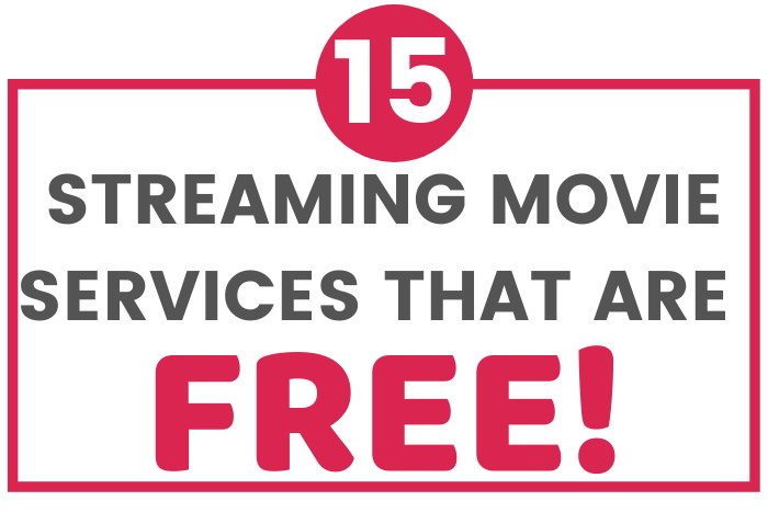 services that stream movies for free