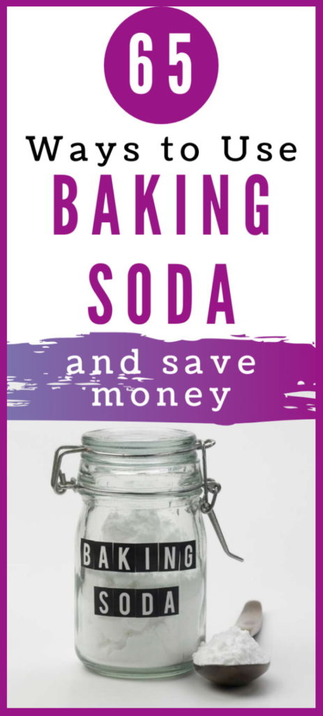 uses for baking soda that will save money