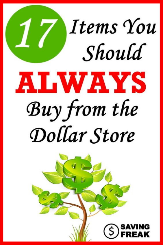 what to buy at dollar stores