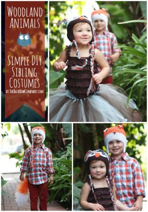 woodland animal costumes